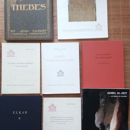 [ARCHÉOLOGIE ÉGYPTOLOGIE] 10 ouvrages. *Considérations sur les variations et la …
