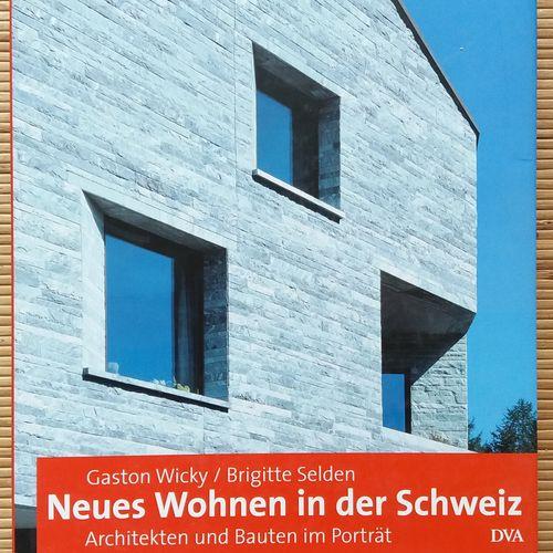 """[ARCHITECTURE EN SUISSE] Lot de 8 ouvrages. *Faksimile des """"Ascona Bau Buches"""" v…"""