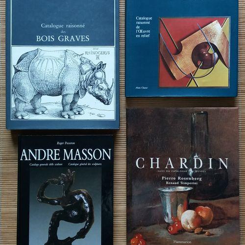 [ART CATALOGUES RAISONNÉS] 4 catalogues raisonnés. *André Masson. Catalogue géné…