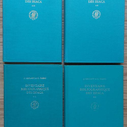 [ARCHÉOLOGIE ÉGYPTOLOGIE] 4 ouvrages. *Inventaire Bibliographique des Isiaca (Ib…