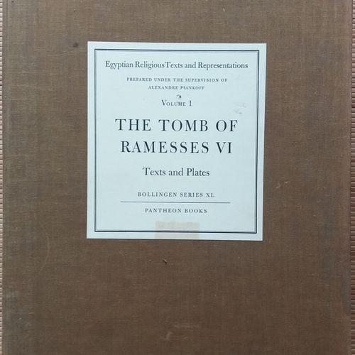 [ARCHÉOLOGIE ÉGYPTOLOGIE] Un ouvrage en 2 parties, sous portfolio. *The Tomb of …