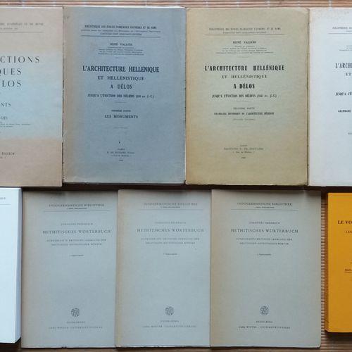 [ARCHITECTURE GRECE] Ensemble de 4 ouvrages sur l'architecture helleniste et 5 o…
