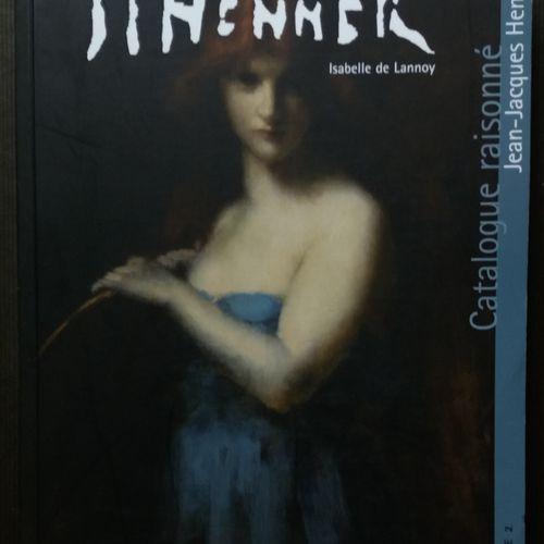[ART HENNER, JEAN JACQUES] 4 ouvrages sur Jean Jacques Henner, dont le catalogue…