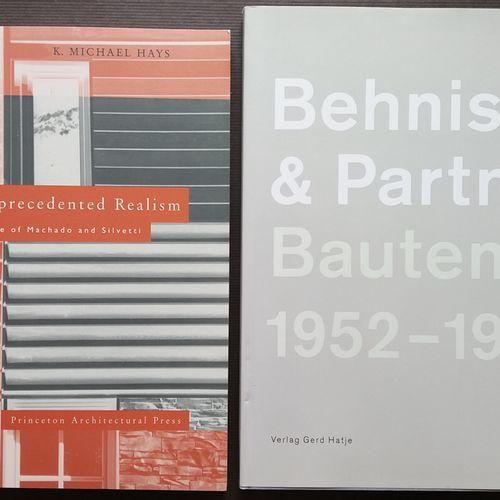 [ARCHITECTURE MEIER, RICHARD & autres Monographies d'Architectes] Ensemble de 6 …