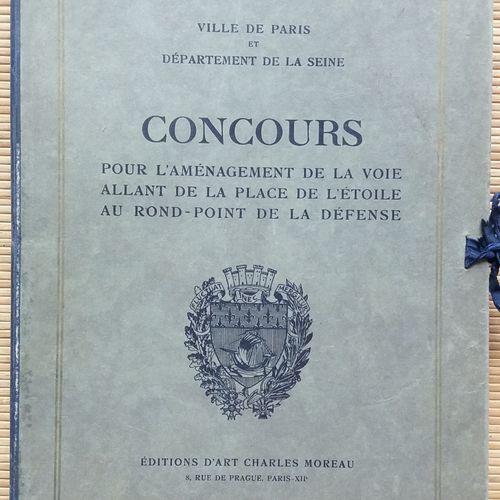 [ARCHITECTURE] 1 portfolio. *Ville de Paris et Département de la Seine. Concours…