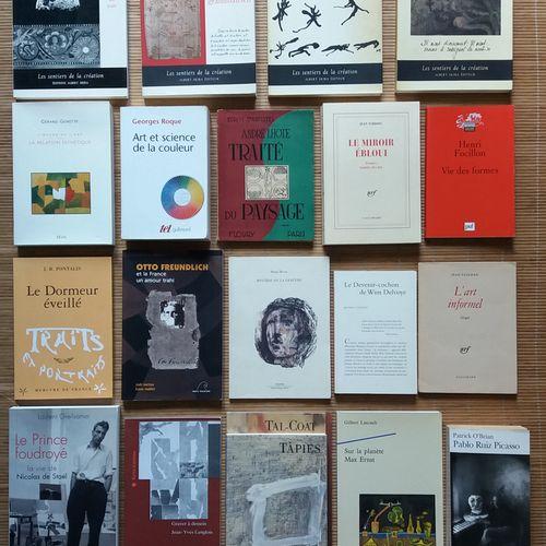 [ART ÉCRITS SUR L'ART] 20 ouvrages. *Jean Tardieu. Obscurité du Jour. Albert Ski…