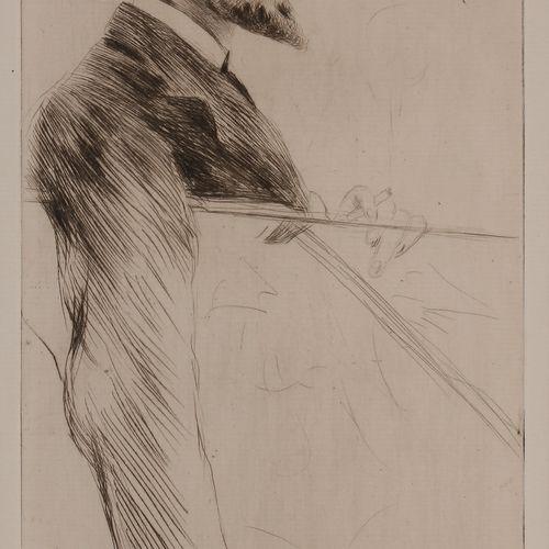 Norbert GOENEUTTE (1854 1894)  Charles Goeneutte (frère de l'artiste), avant 188…