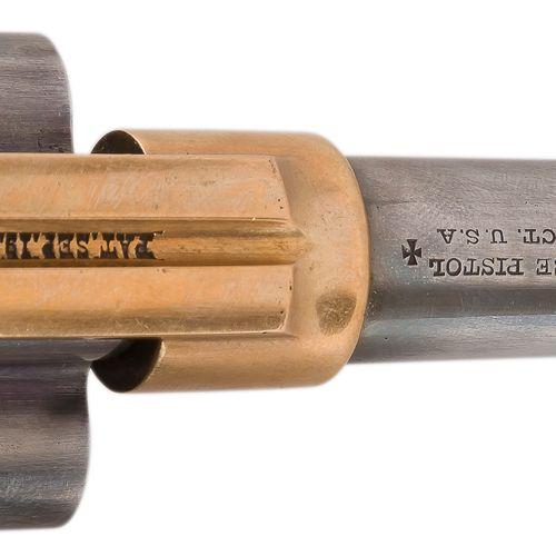 "Revolver Colt House ""Cloverleaf"", quatre coups, calibre 41 Rimfire, simple actio…"