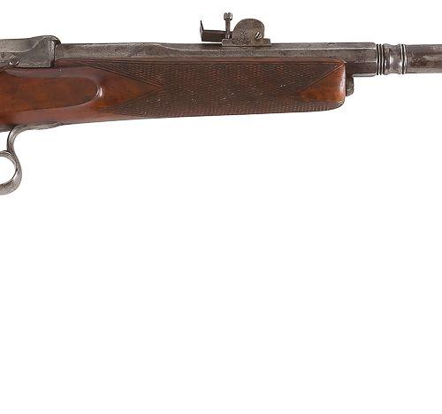 Carabine de tir à système, à percussion annulaire, un coup, calibre 6 mm Canon r…