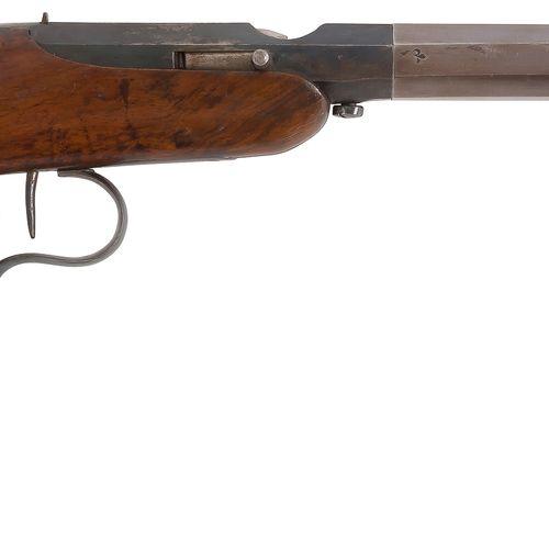 Pistolet à système, à tir réduit, à percussion, de salon, un coup, calibre 10,7 …