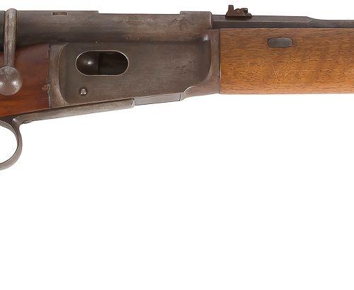 Mousqueton « Vetterli » type 1881, un coup, calibre 10,4 mm Canon rond, rayé, à …