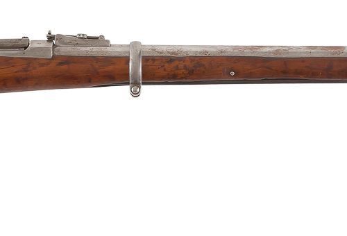 Fusil Berdan modèle 1870, un coup, calibre 10,65 mm Canon rond (manque le tenon …