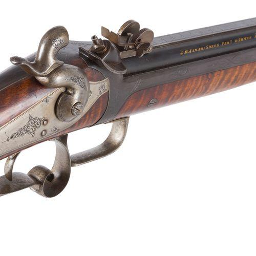Carabine de tir de précision à système Ghaye, à percussion un coup, calibre 11 m…