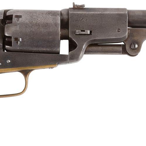 Revolver Colt Dragoon, 3e modèle, six coups, calibre 44, simple action. Canon ro…
