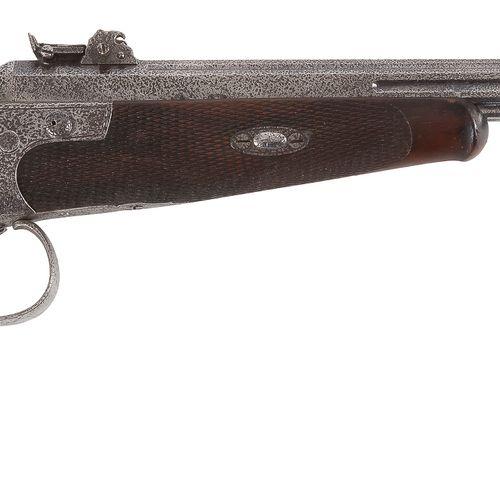 Pistolet de tir allemand, à système, un coup, calibre 5,5 mm à percussion centra…