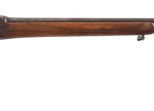 Fusil de chasse à système, un coup, calibre 16, à chargeur tubulaire. Canon de 7…