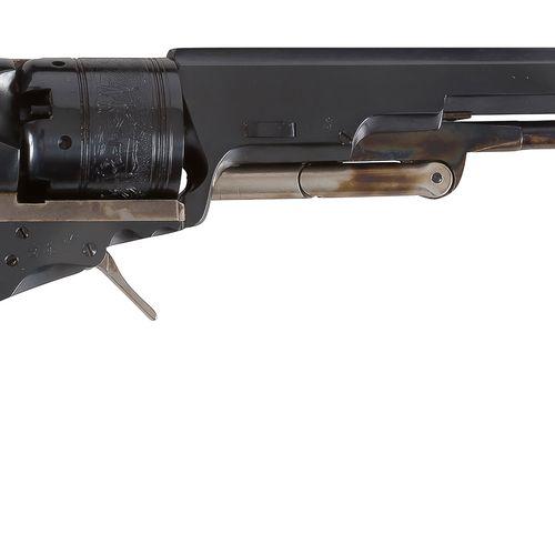 Revolver Colt « Paterson » à percussion, six coups, calibre 36. Canon à pans. Ba…
