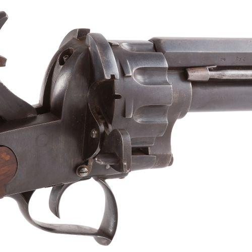 Carabine revolver Le Mat à broche, 10 coups, neuf en calibre 12 mm et un coup à …