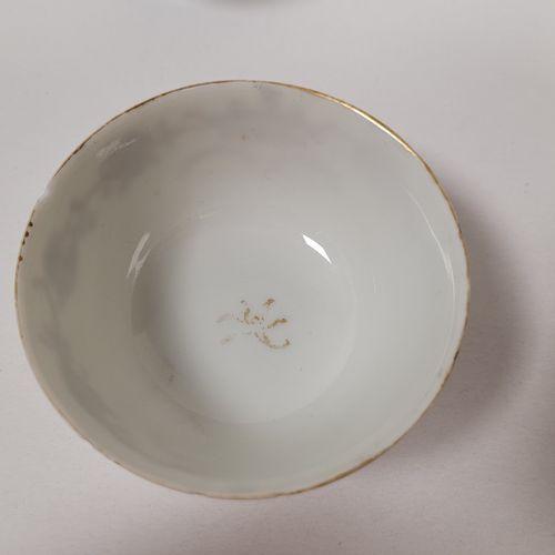 Ensemble de six coupelles à sorbet, Chine, Compagnie des Indes, XVIIIe XIXe sièc…