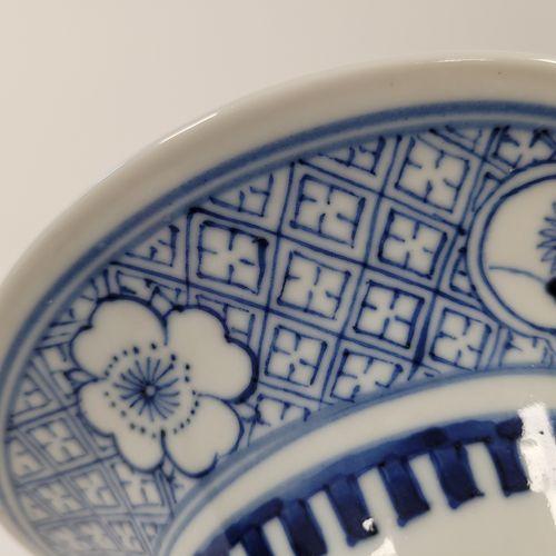 Grand vase en porcelaine leu blanc, Chine, fin XIXe début XXe siècle A décor de …