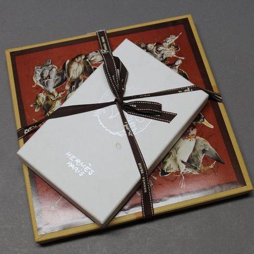 """HERMES Paris  Puzzle """"Tableau de Chasse"""", we attach an XXL deck of cards to it"""