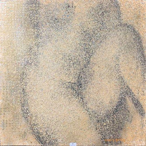 Henri André MARTIN (1918 2004) Nu de face Toile Signée en bas à droite 80 x 80 c…