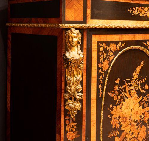 FRANKRIJK ca 1850/70 zeer mooi neoclassicistisch Napoleon III meubel met afgesch…