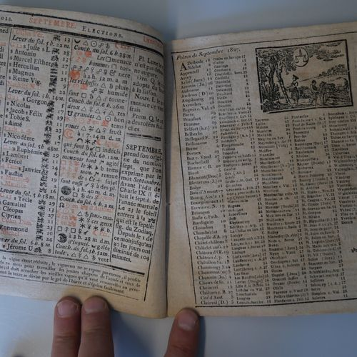 ANONYMOUS. The true lame messenger for the year 1827 and 1828. Two volumes in 4°…