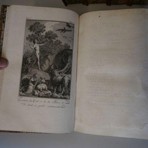 Translation by le MAISTRE de SACI. Holy Bible. Paris, printed by Monsieur, 1789.…