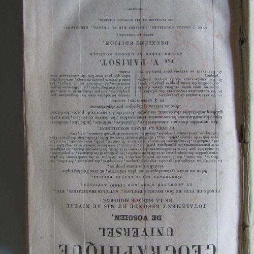 Set of 2 books : ALMANACH ROYAL ET NATIONAL POUR L'ANNEE 1836, Paris 1836. In 8°…