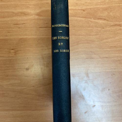 YOURCENAR (M.): Les songes et les sorts. Grasset, 1938. In 12 modern black half …