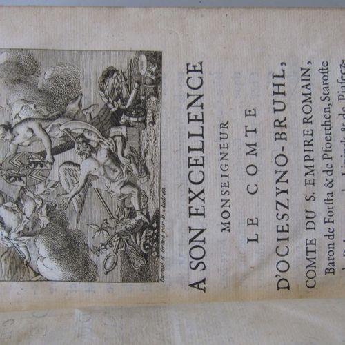 """""""ABREGE CHRONOLOGIQUE DU DROIT PUBLIC D'ALLEMAGNE"""", Paris, 1754. In 12 contempor…"""