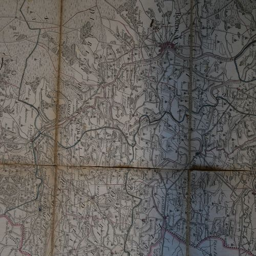 DELAVAL. Map of the Gironde department and the Arcachon basin given by Delaval a…