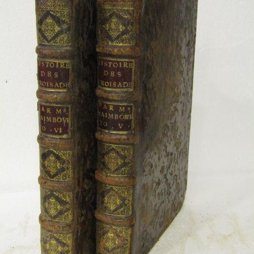 MAIMBOURG, Histoire des Croisades. Paris, 1686. 2 volumes in 4°, bound in brown …