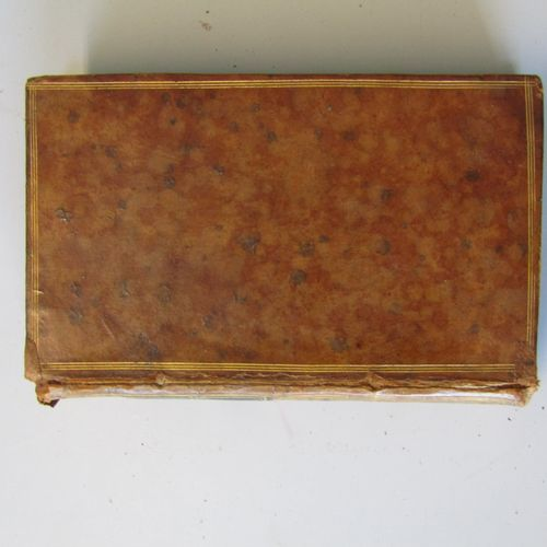 Jean Jacques ROUSSEAU : Emile ou de l'education ; London, 1781. 4 volumes, in 12…