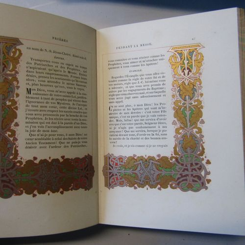 B. Charles Mathieu, Ornaments of manuscripts from the 8th to the 16th century. T…