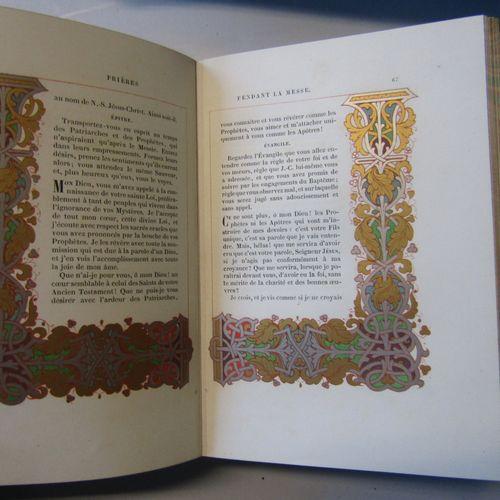 B. Charles Mathieu, Ornements des manuscrits du VIIIe au XVIe siècle. Tome 1 Liv…