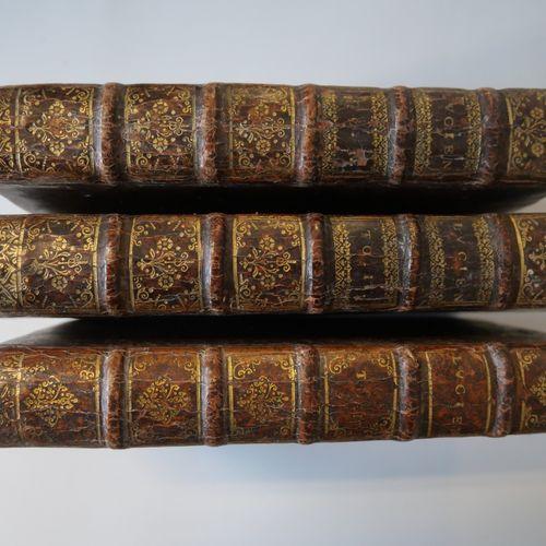 LUCIEN (Traduction de Perrot d'Ablancourt). Œuvres. Paris 1674. 3 volumes in 12°…