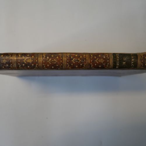 THEOPHRASTE. Character. Paris, Bastien, 1790. In 8°. Bound in full contemporary …