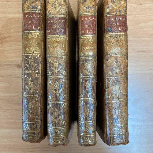 John Milton, Le Paradis Perdu de Milton poème héroïque, Chez Durand, Paris, 1753…