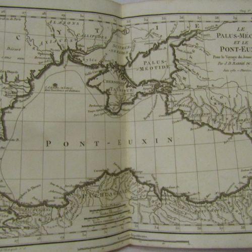 BARTHELEMY, Recueil de cartes géographiques, plans et vues .. Relatifs au Voyage…