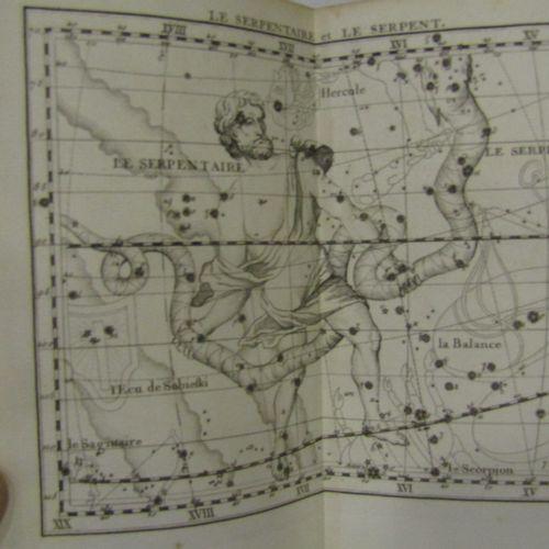 FLAMSTEED Atlas Celeste. By Fortin, Paris, 1776. In 4°, viii pp & 30 plates & 40…