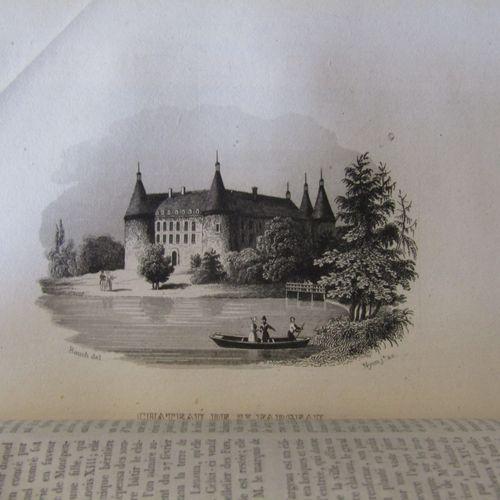 GUIDE PITTORESQUE DU VOYAGEUR EN FRANCE. Paris, Firmin Didot, 1838. 6 volumes in…