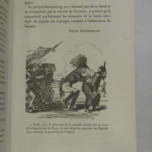 Messieurs les Cosaques (illustrations by CHAM). Paris 1854, 2 volumes in 8°, bou…