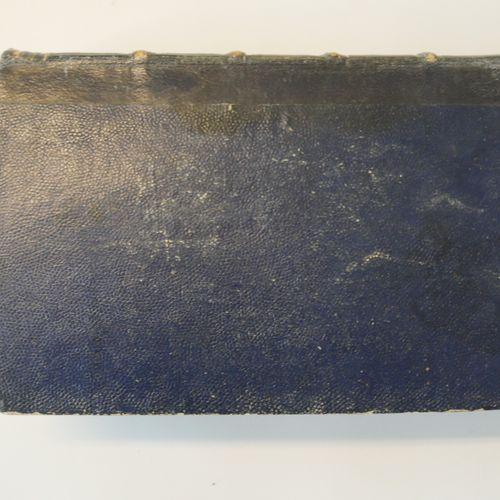 HOFFMANN. Fantastic tales. Paris Belin, 1844. In 12° bound in contemporary blue …