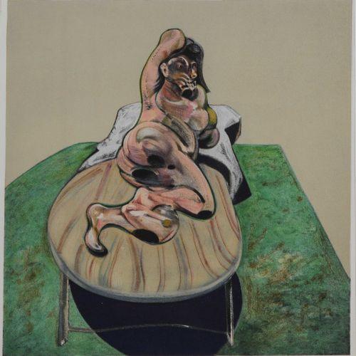 D'après Françis BACON (1909 1992) SANS TITRE, 1966 Lithographie extraite de l'ou…
