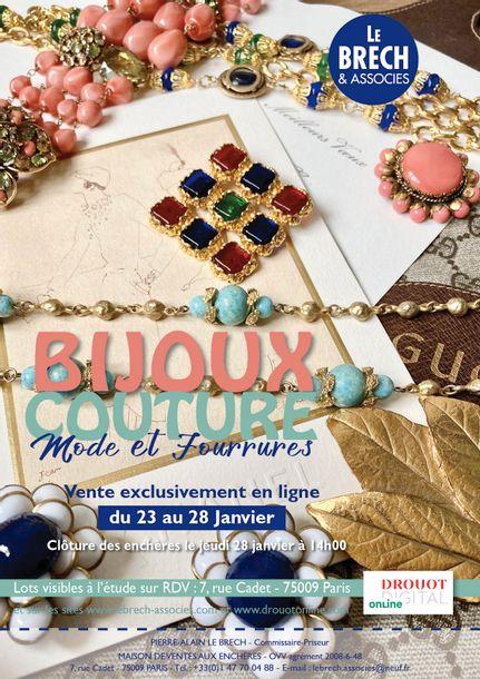 BIJOUX COUTURE et ACCESSOIRES- MODE et FOURRURES