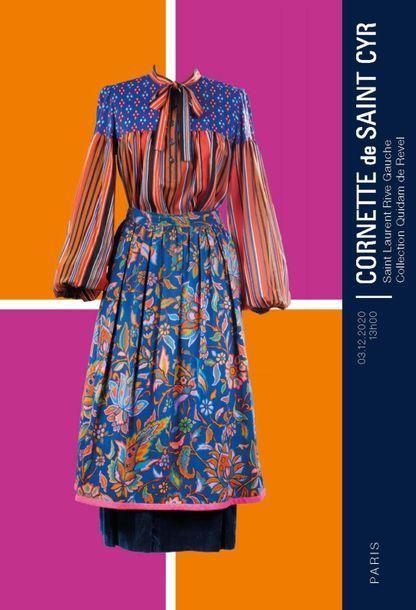 [VENTE MAINTENUE EN LIVE A HUIS CLOS] Les années 70 : l'Age d'Or de Saint Laurent Rive Gauche - Collection QUIDAM DE REVEL