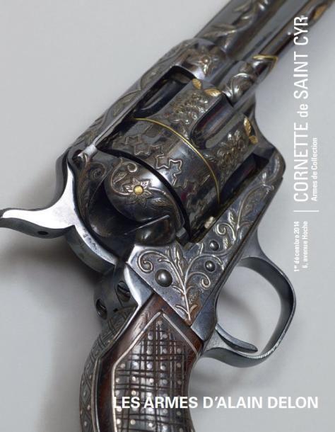 Les armes d'Alain Delon