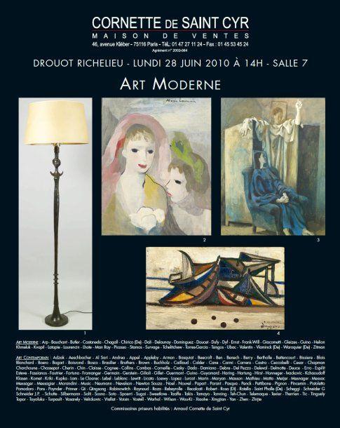 ART MODERNE - ART CONTEMPORAIN